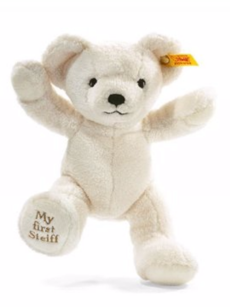 My first Steiff Teddy, 25cm cream plush EAN 664021
